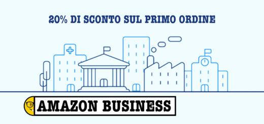 53c0a5a19cabb9 Amazon Business: 20% di sconto sul primo ordine